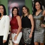 Daniela Nascimento, Alessandra de Matos, Michelle Nascimento, e Kelly Oliveira, do SPCVB