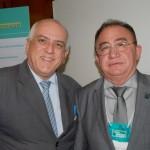 Dilson Jatahy e Manoel Linhares, da ABIH
