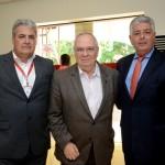 Eduardo Colturato, da SPTuris,  Aristides Cury, do Skal SP, e Caio Sergio Calfat Jacob, da Secovi SP
