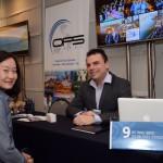 Erika Matsuno, da Queensberry, e Alberto Rezende, da OPS Travel