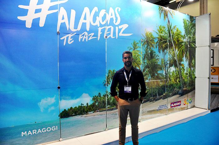 Helder Lima, secretário de Turismo de Alagoas, exaltou a chegada da nova operação, que deve trazer mais turista ao estado nordestino