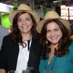 Ilzabete Ferreira, da Samatur Turismo, e Teresinha Mira, da MTM Viagens