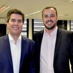 Juarez Cintra Neto, da Ancoradouro, e João Taylor, do M&E