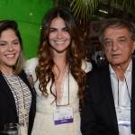 Luana Luna, Diana Rocha e Arialdo Pinho, da Setur-CE