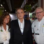 Mari Masgrau e Roy Taylor, do M&E, com Arialdo Pinho, Secretario de Turismo do Ceará (1)