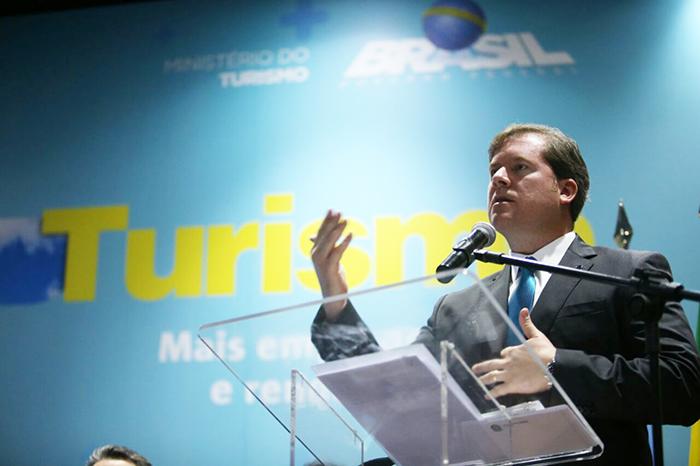 Marx Beltrão destaca o programa Brasil + Turismo