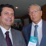 Otávio Leite e Roland Bonadona
