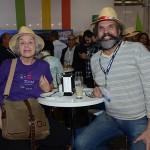 Rosalice Fleury, da Nômade, e Marcelo Guimaraes, da Palmitur