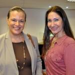 Rosemary Herzka, da HYVA Tours, e Laura Rodrígues, da Inspiring Adventures