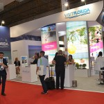 Stand do Visit Florida durante a WTM