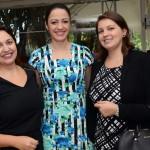 Suelda Vicente, Daniele Medeiros e Camila Pelegrini, da Latam Airlines