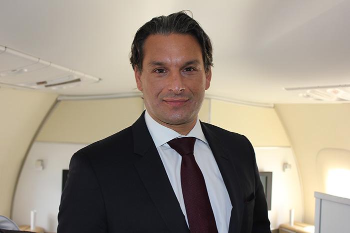 Tamur Goudarzi Pour, vice-presidente para as Américas do Grupo Lufthansa