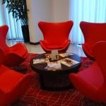 Uma reunião ou um drink com os amigos, o lobby é um espaço além da recepção