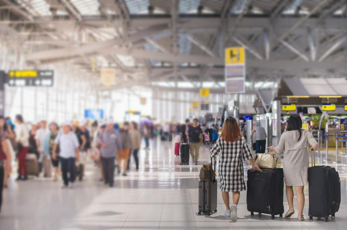 aeroporto movimento