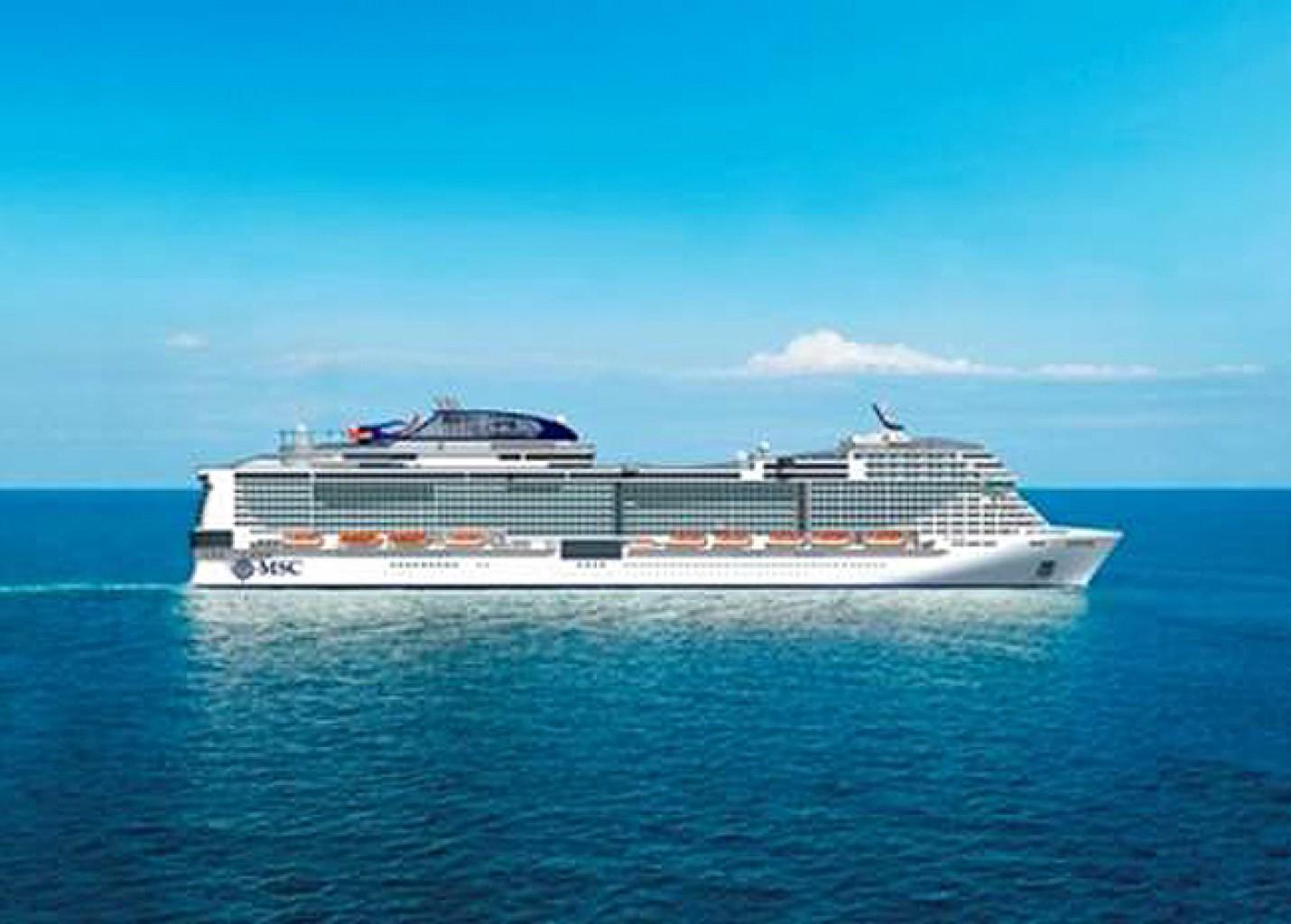 MSC inicia vendas para novo navio MSC Bellissima