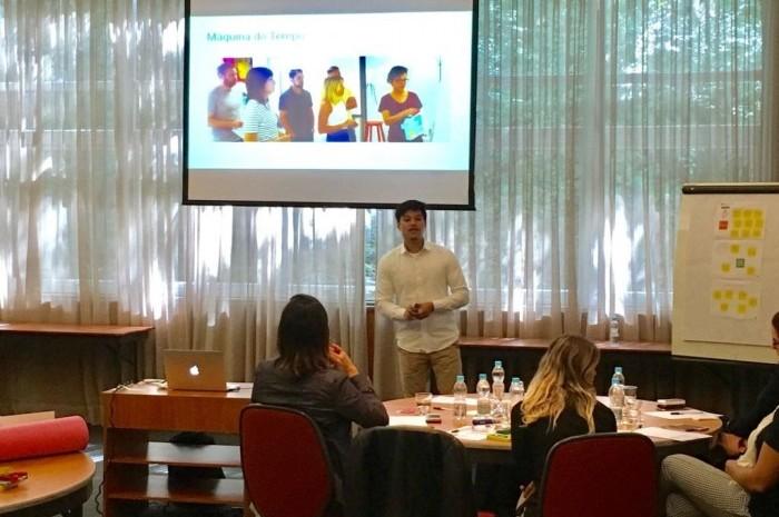 Curso foi lecionado pelo Co-fundador e CMO da Service Design Sprints.com, Alessandro Ng (Foto: Divulgação)