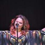 A cantora Maria Rita, atração musical da noite