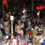 Cerca de 100 convidados prestigiaram o jantar de abertura