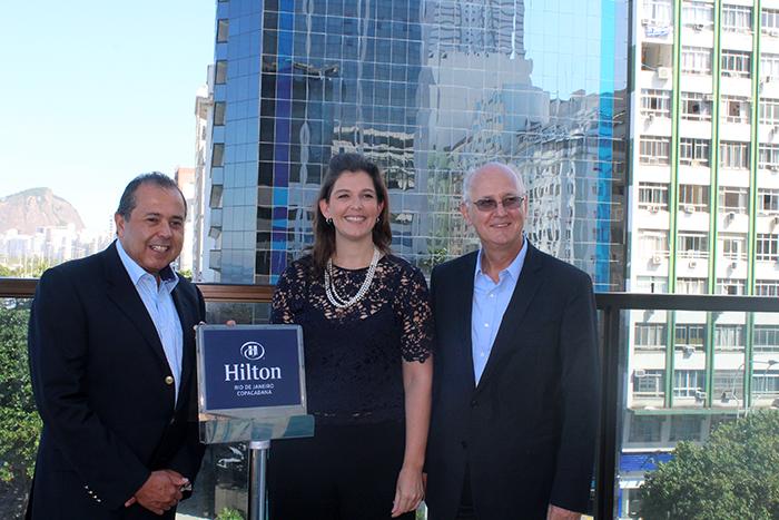 Diretores destacam o padrão de qualidade Hilton (1)