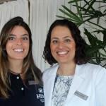 Luiza Sardina e Maria Paula Comaru, diretora de Vendas e Marketing