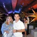 Fabio Rossi e Ana da Flytour Eventos