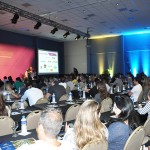 Grande público nas palestras presentes  no núcleo Tupi Guarani