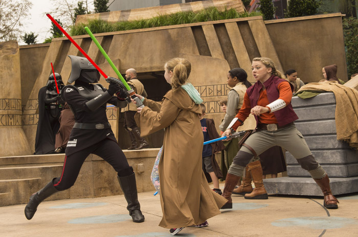 Jedi Training Trials of the Temple - foto David Roark