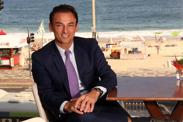 Patrick Mendes, CEO da AccorHotels na América do Sul