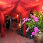Recepção de gala para convidados