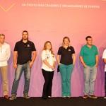 Rubens Régis com representantes das empresas apoiadoras