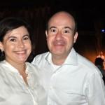 Wilson Ferreira Jr, da Ampro e sua esposa Elizabeth
