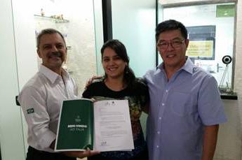 Marina Garcia, da RRC de Fortaleza, foi a campeã de abril.
