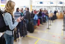 Passageiros que utilizam a tecnologia são mais felizes, diz Sita