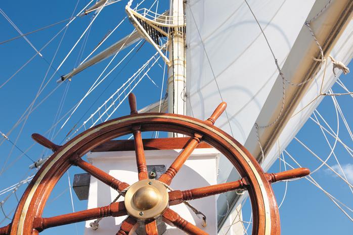 Passageiros podem participar dos procedimentos de navegação (Foto: divulgação)