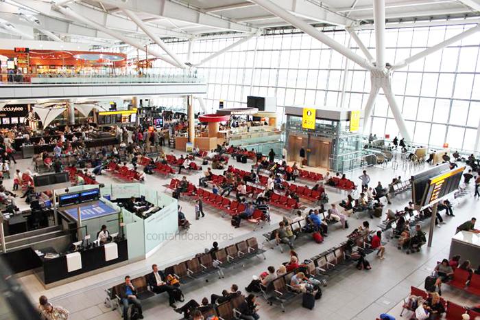 O aeroporto de Heathrow lidera os Top Ten da Europa