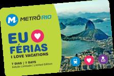 70% de desconto: MetrôRio lança bilhete especial para férias