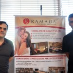 Daniel Leone e Cleyton Rosa, supervisores do Ramada Recreio Shopping