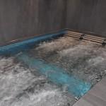 Espaço de hidroterapia