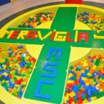 Espaço infantil Leggo e Chicco conta  com sete salas para crianças e adolescentes