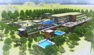 Tem início a construção do primeiro parque termal de Gramado