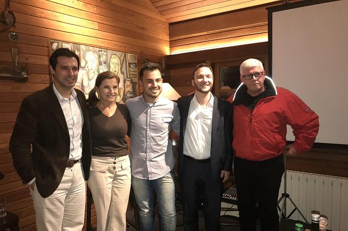 Os executivos apresentaram o conceito do evento de tecnologia, que poderá gerar centenas de negócios (Foto: Divulgação)