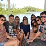 Jornalistas convidados pela Vert aproveitam para um dos passeios ecologicos oferecidos a hóspedes