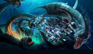 SeaWorld reabre Kraken neste sábado (17); saiba mais
