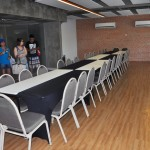 Mais espaços para reuniões