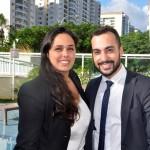Nathália Granado, gerente adjunta e Fernando Gonçalves, supervisor de Alimentos e Bebidas