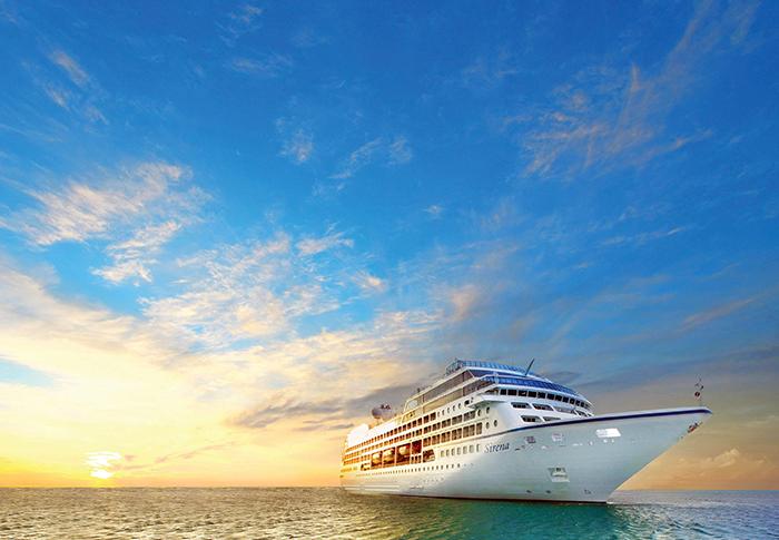 O Sirena, da Oceania Cruises