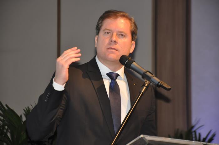 O ministro do Turismo, Marx Beltrão (Foto: Samantha Chuva)
