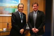 Marx Beltrão pede ao novo presidente do BNDES linha de crédito para o setor