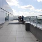 O novo espaço para festas no terraço com vista panorâmica será inaugurado em breve