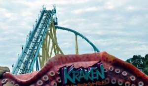 Com realidade virtual, Kraken inaugura novo conceito de montanhas-russas; fotos